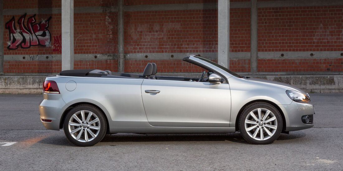 VW Golf Cabrio, Seitenansicht