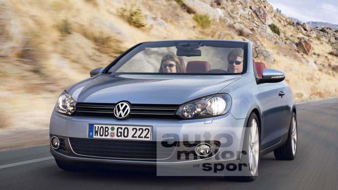 VW Golf Cabrio VI 2012