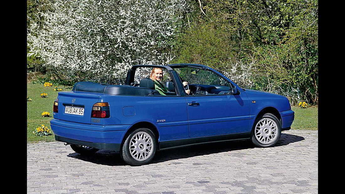 VW Golf Cabriolet, Impression