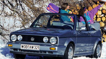 VW Golf Cabriolet, Impression
