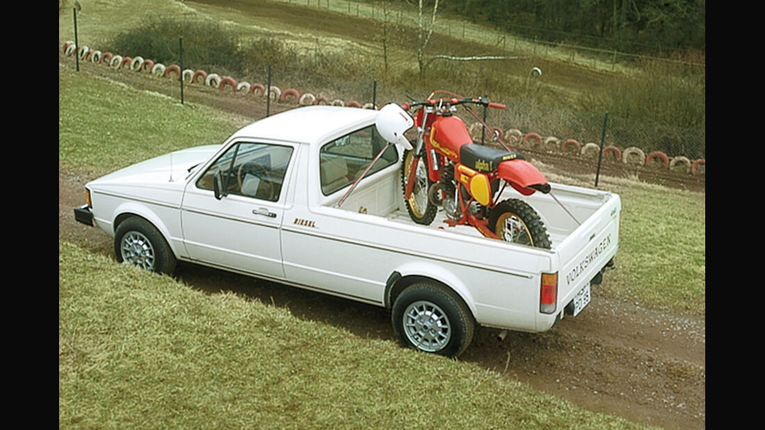 VW Golf Caddy, Draufsicht
