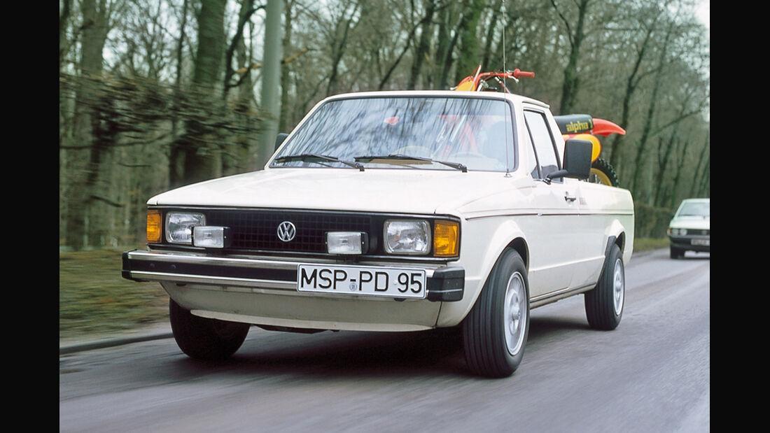 VW Golf Caddy, Frontansicht