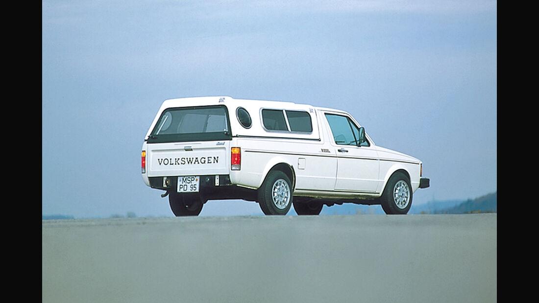 VW Golf Caddy, Seitenansicht