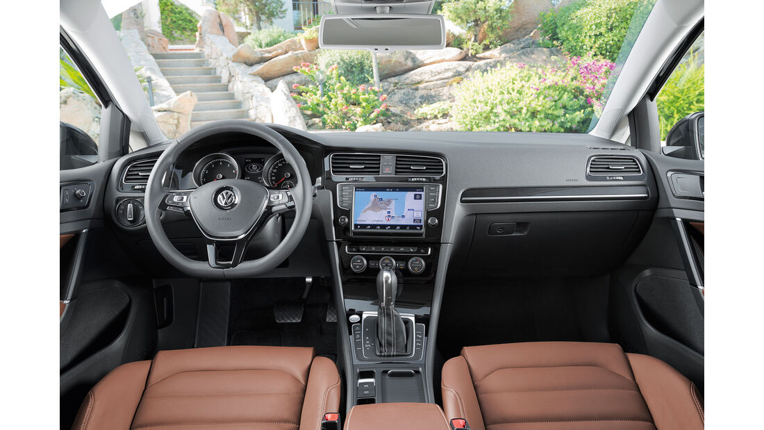 VW Golf - Cockpit