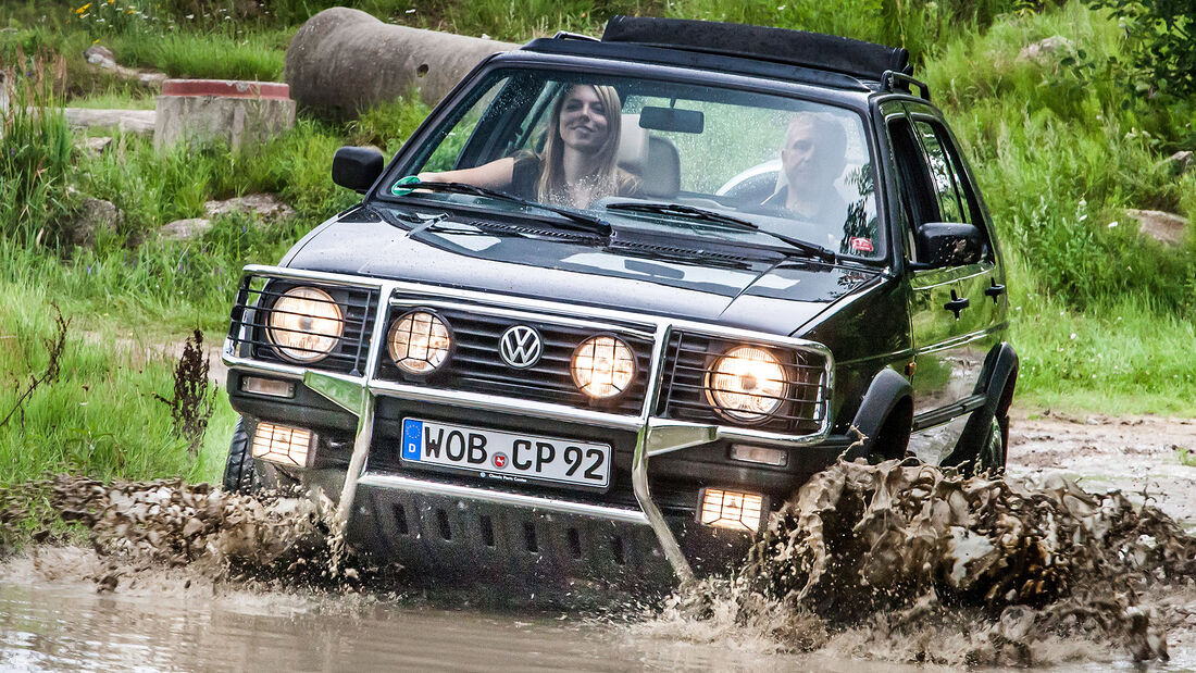 VW Golf Country 1990
