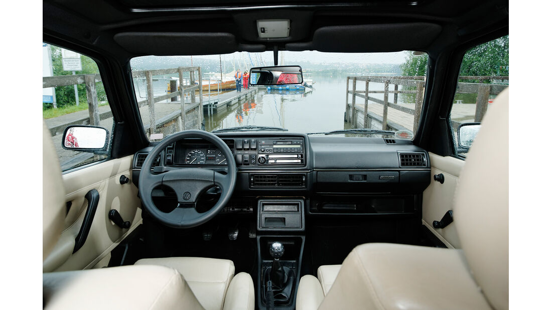 VW Golf Country, Cockpit