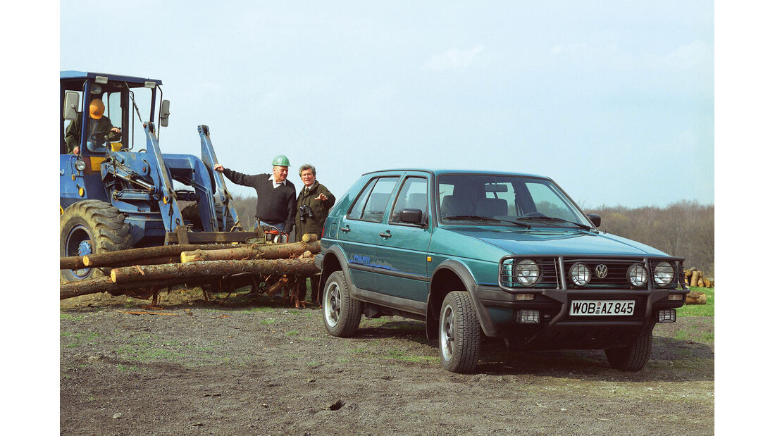 VW Golf Country, Frontansicht