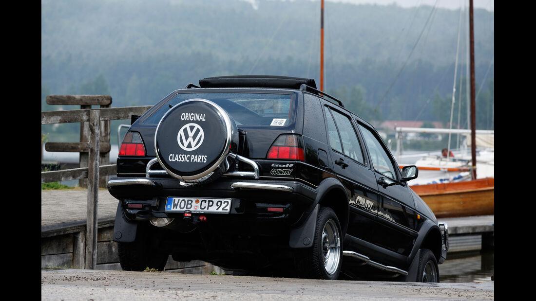 VW Golf Country, Heckansicht