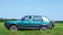VW Golf Country, Seitenansicht