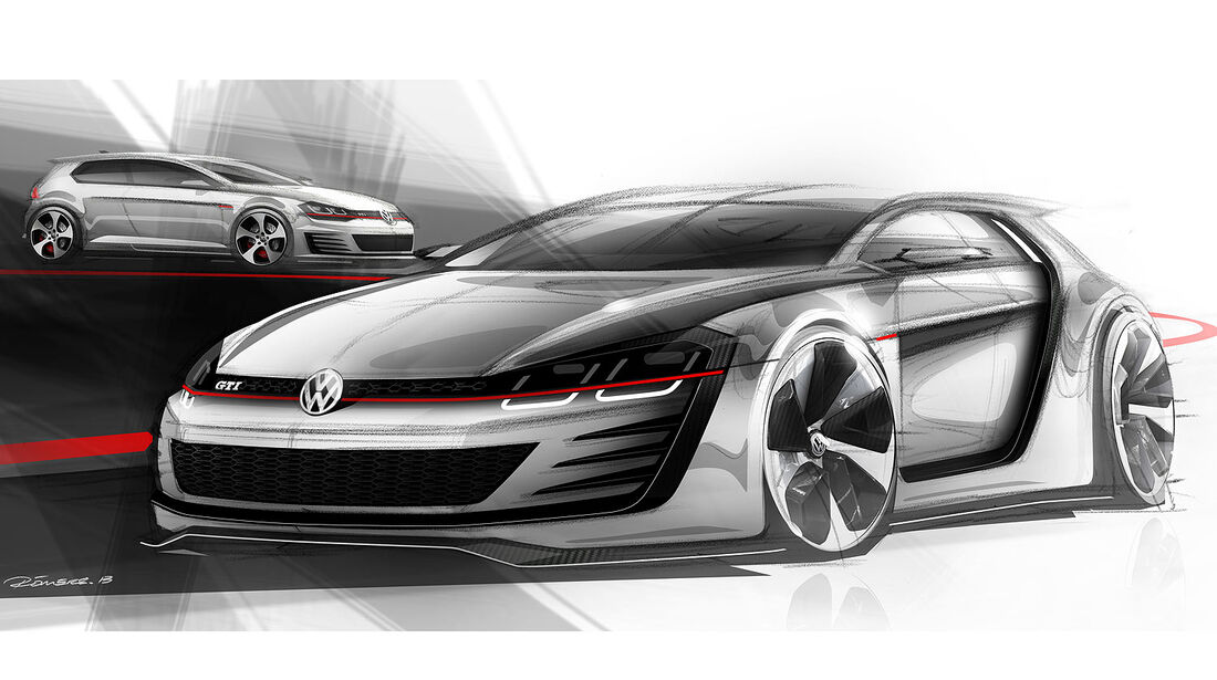 VW Golf Design Vision GTI Wörthersee 2013