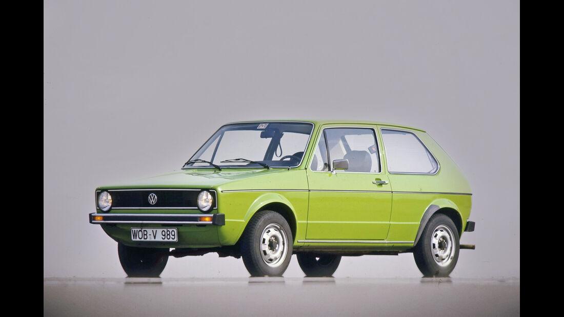 VW Golf Diesel, Seitenansicht