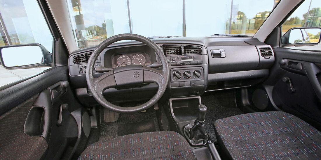 VW Golf Ecomatic, Cockit