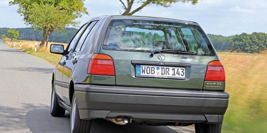 VW Golf Ecomatic, Heckansicht
