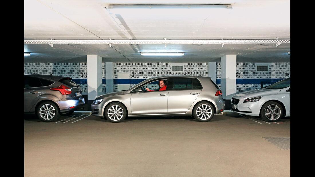 VW Golf, Einparktest