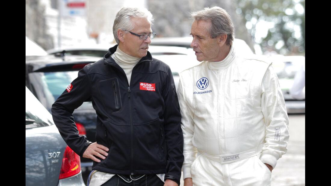 VW Golf, Fahrer