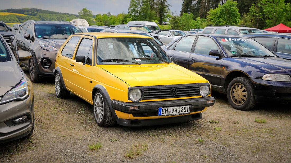 VW Golf - Fanautos - 24h Rennen Nürburgring - Nürburgring-Nordschleife - 4. Juni 2021