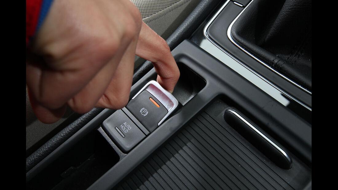 VW Golf, Feststellbremse