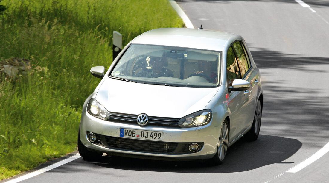 VW Golf, Frontansicht