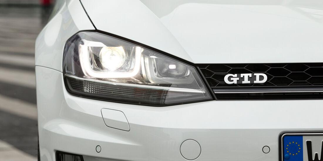 VW Golf GD, Frontscheinwerfer