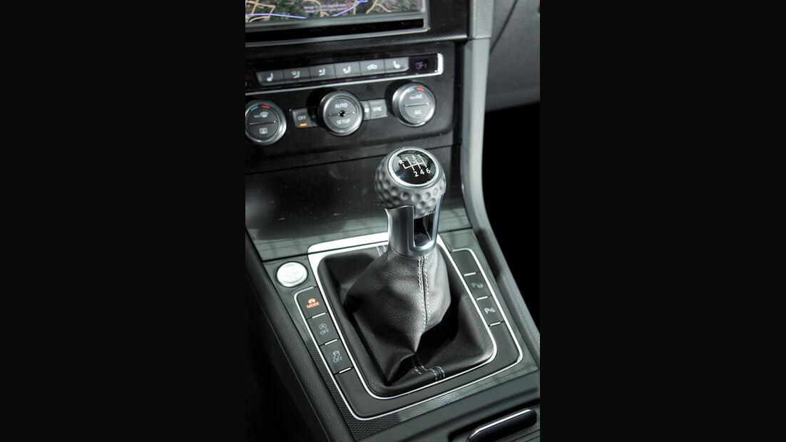 VW Golf GD, Schalthebel