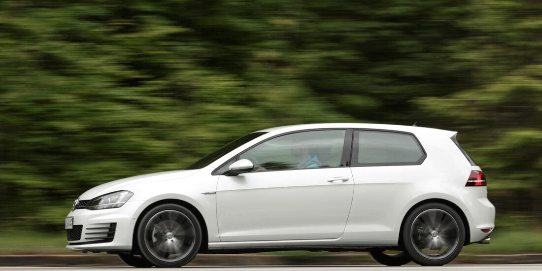 VW Golf GD, Seitenansicht