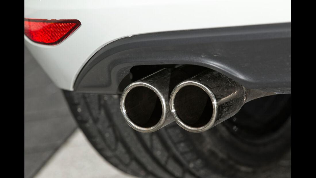 VW Golf GTD, Auspuff, Endrohr