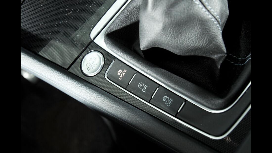 VW Golf GTD, Bedienelemente