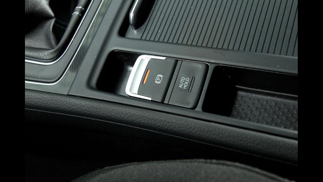 VW Golf GTD, Feststellbremse