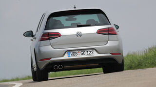 VW Golf GTD Heck