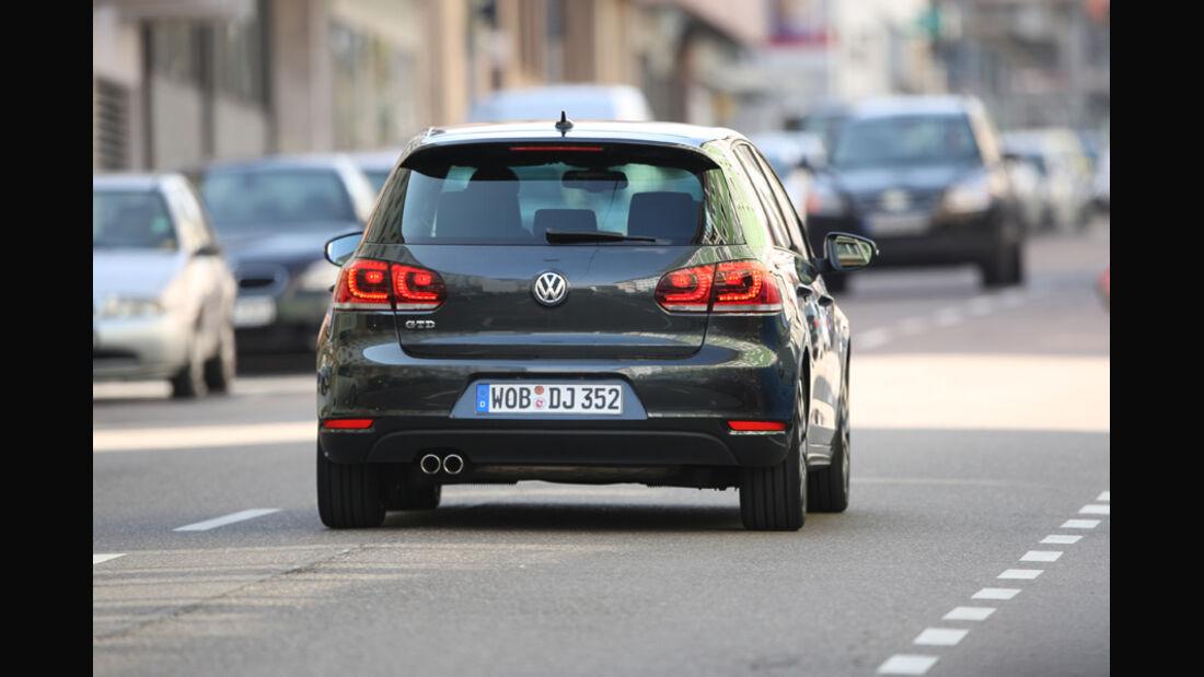 VW Golf GTD, Heckansicht