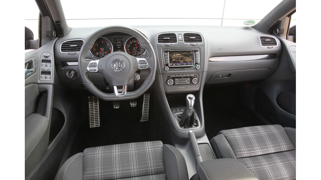 VW Golf GTD, Innenraum