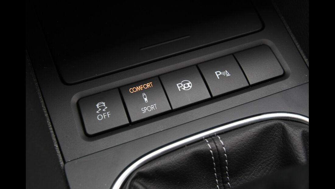 VW Golf GTD, Innenraum, Detai