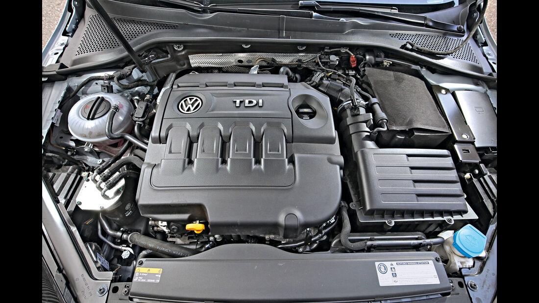VW Golf GTD Motor