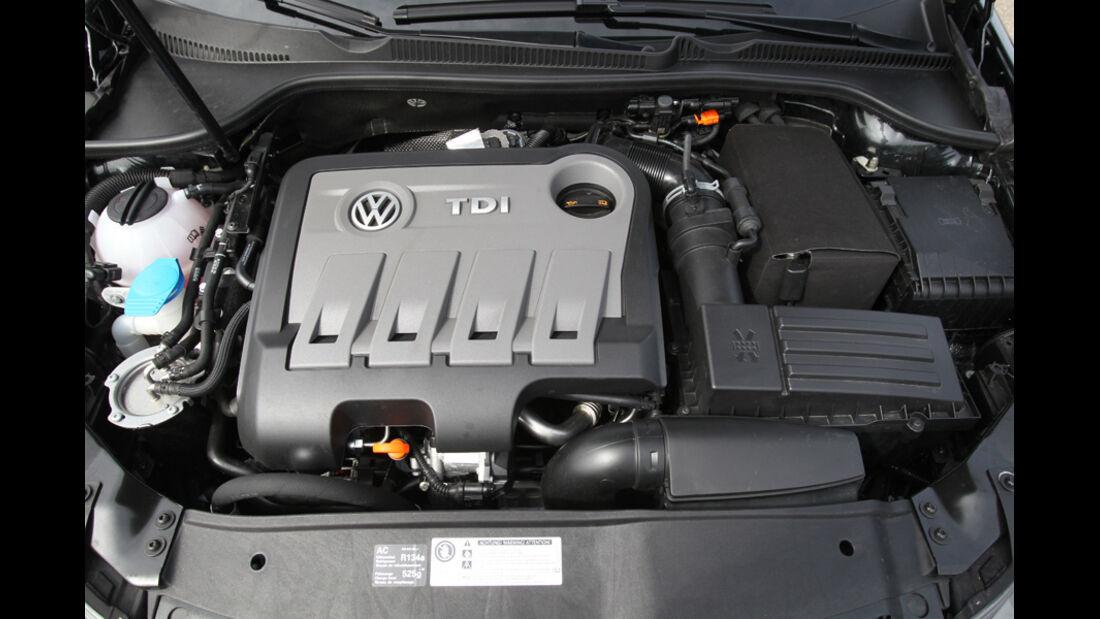 VW Golf GTD, Motor