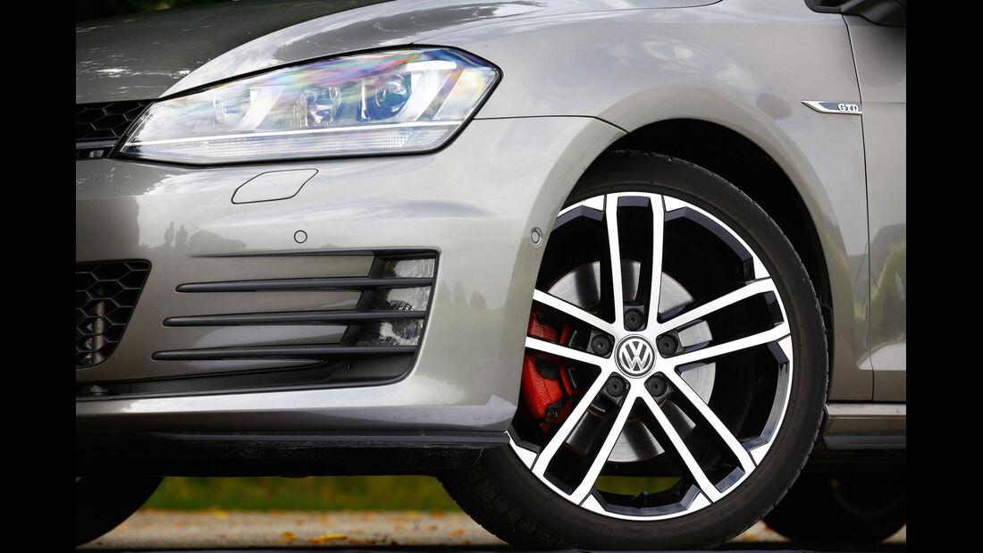 VW Golf GTD, Rad, Felge, Bremse