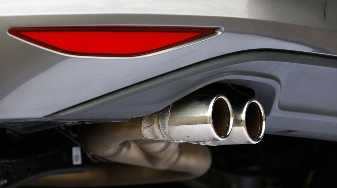 VW Golf GTD, Rndrohr, Auspuff