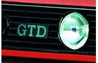 VW Golf GTD-Schriftzug