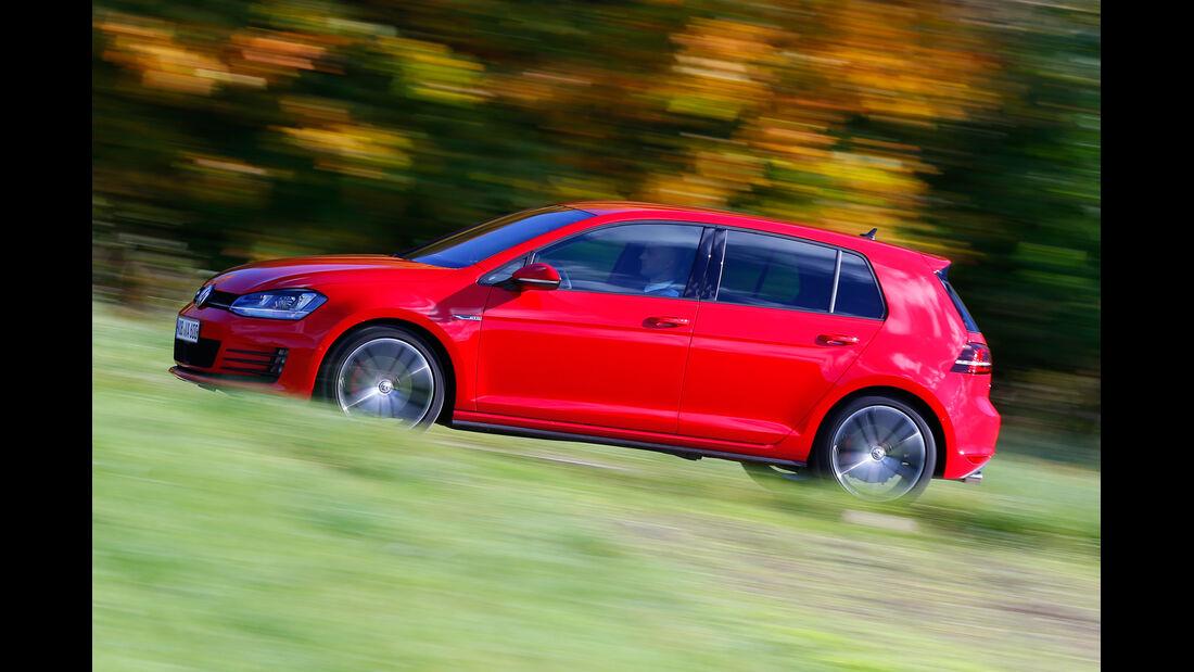 VW Golf GTD, Seitenansicht