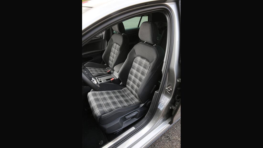 VW Golf GTD Sitze