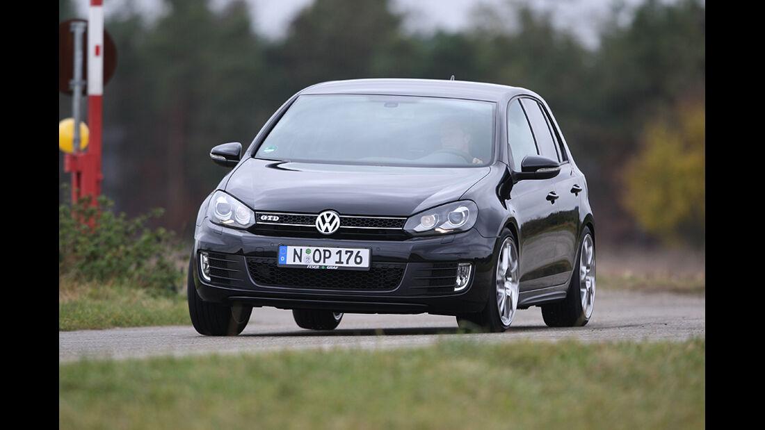 VW Golf GTD Tuning