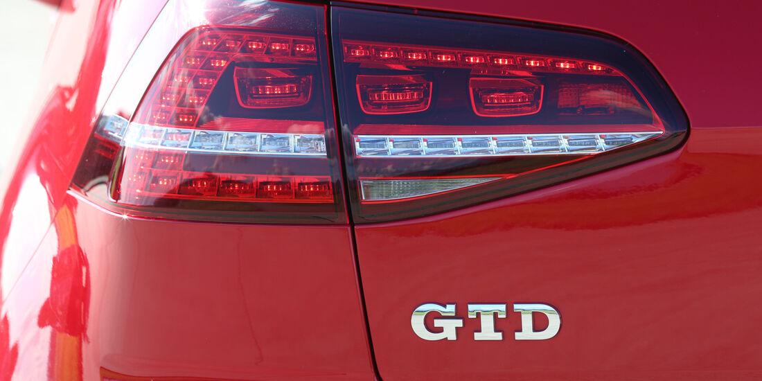 VW Golf GTD, Typenbezeichnung