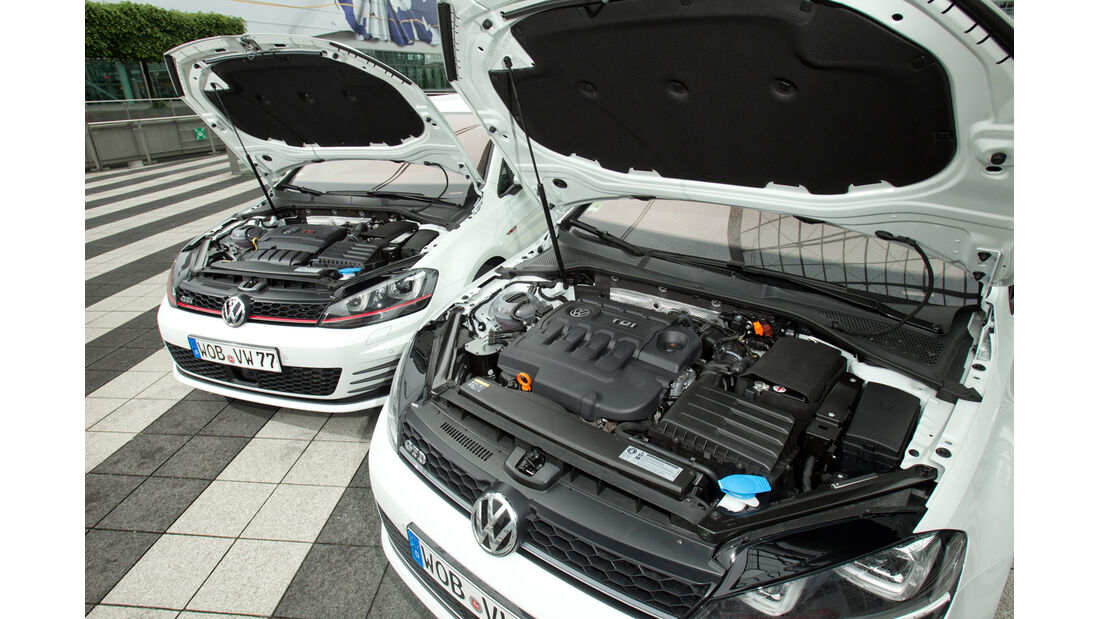 VW Golf GTD, VW Golf GTI, Motoren