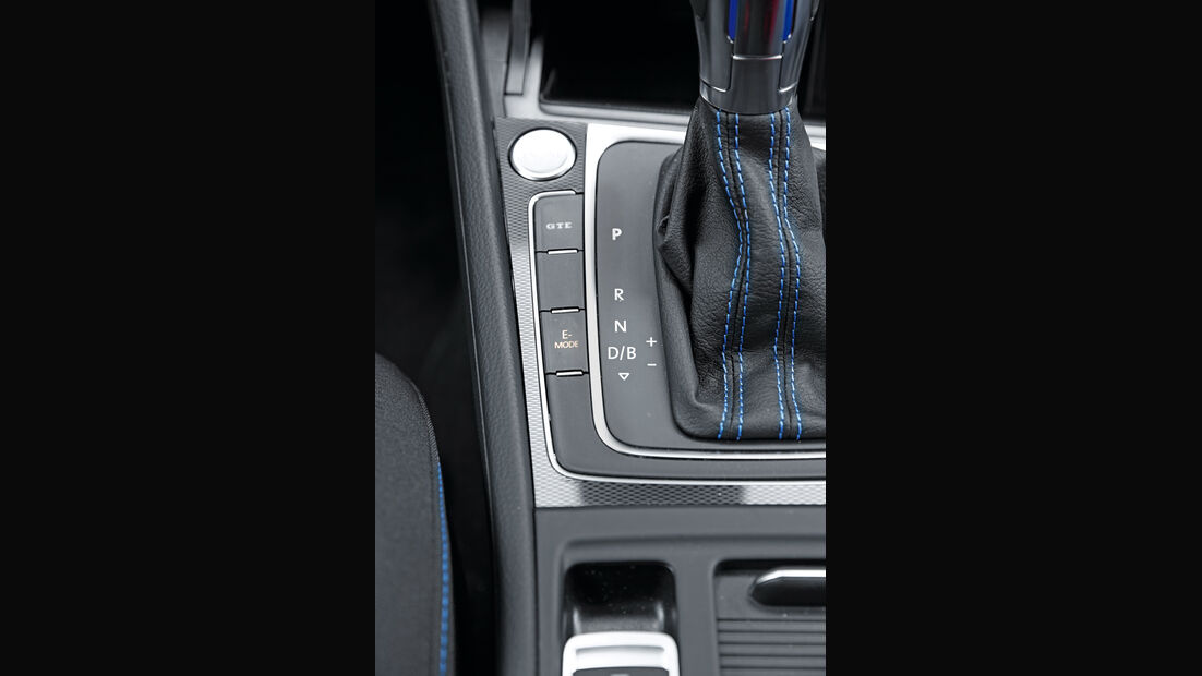 VW Golf GTE, Bedienelemente, Tasten