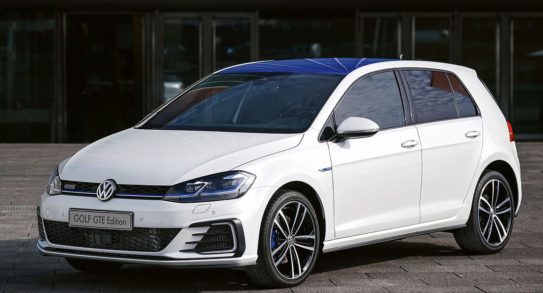 VW Golf GTE Edition Sondermodell