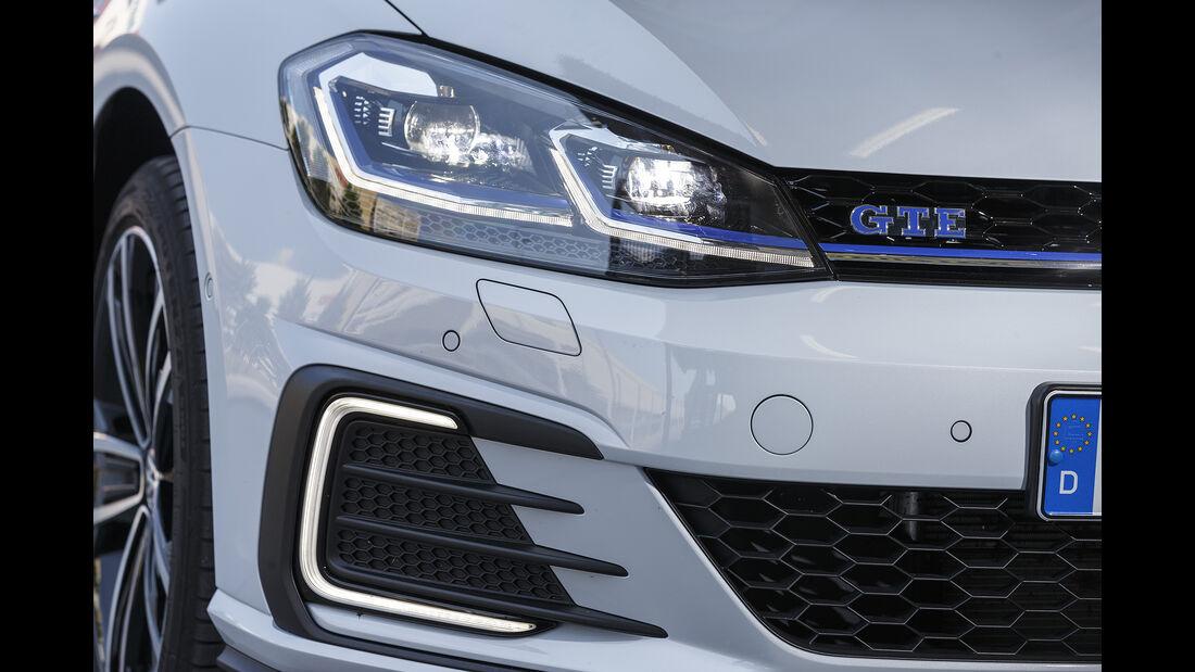 VW Golf GTE Front Detail