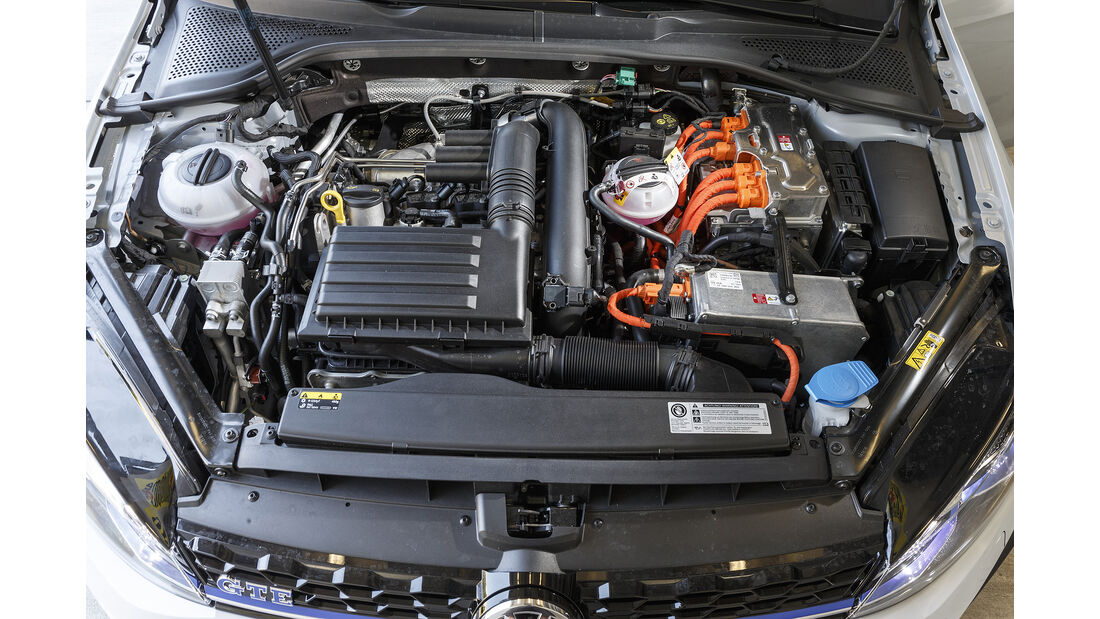 VW Golf GTE Heck