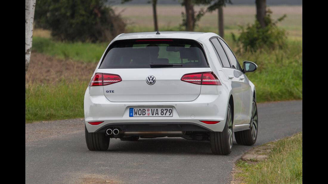 VW Golf GTE, Heckansicht