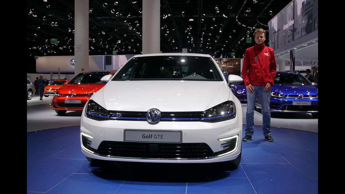 VW Golf GTE - IAA 2015