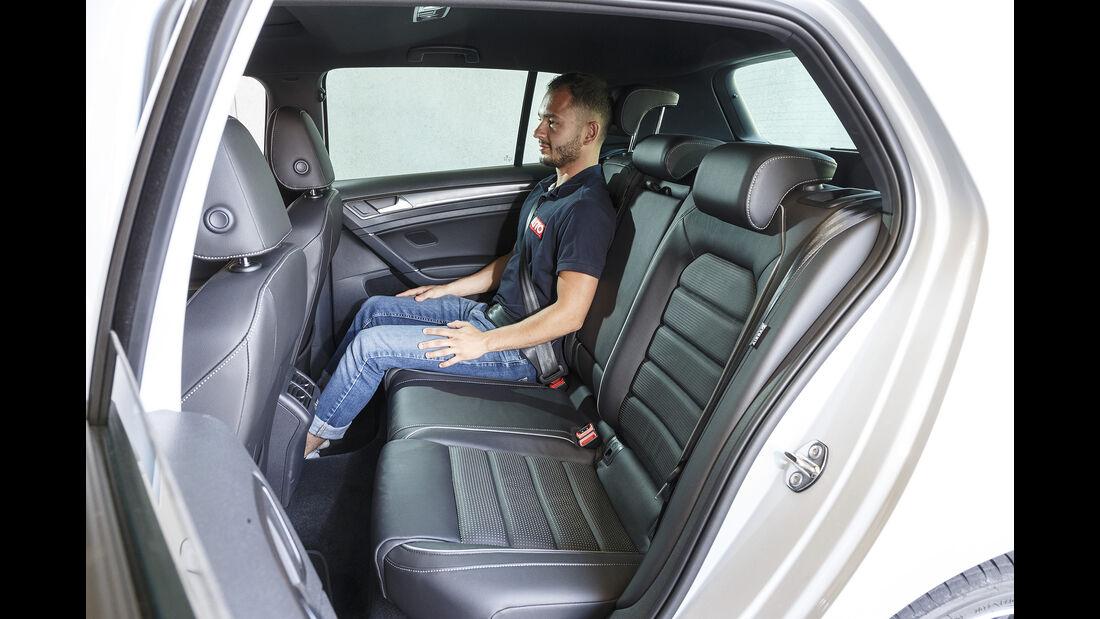 VW Golf GTE Interieur