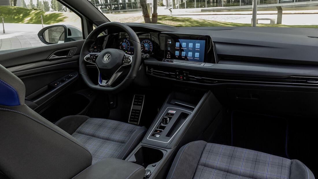 VW Golf GTE, Interieur